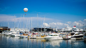 Yachts come to celebrate the Days of the Sea  in Tallinn, Estonia Royalty Free Stock Photos