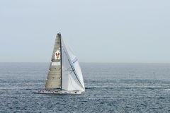 Yachts competing in the Rolex Sydney to Hobart rac. Yachts competing in the Rolex Sydney to Hobart yacht race on Boxing Day Stock Images