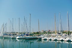 Yachts at the cote D'Azur Stock Images