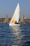 Yachts d'emballage Photographie stock libre de droits