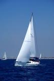 Yachts de croisière Images libres de droits
