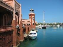 yachts de l'Atlantide Bahamas Photographie stock libre de droits