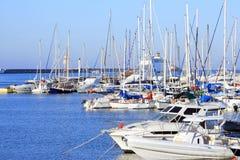 yachts de la Grèce de bateaux Photos stock