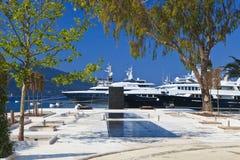 Yachts de luxe image stock