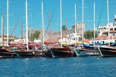 yachts de luxe Image libre de droits