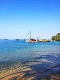Yachts de navigation Photographie stock libre de droits