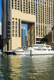 Yachts Dubai Marina Stock Photos