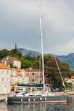 Yachts et bateaux en Mer Adriatique Image stock