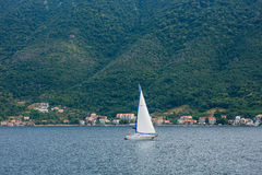 Yachts et bateaux en Mer Adriatique Photo stock