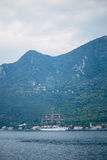 Yachts et bateaux en Mer Adriatique Photos libres de droits