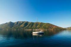 Yachts et bateaux en Mer Adriatique Images libres de droits