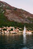 Yachts et bateaux en Mer Adriatique Images stock