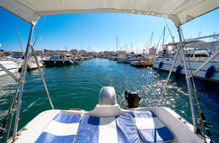 Port of Torrevieja city. Costa Blanca. Spain Stock Photography