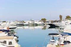 Yachts - Greece Stock Image