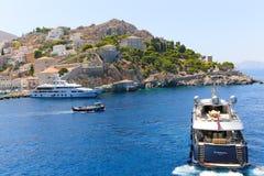 Yachts - Greece Islands Stock Image