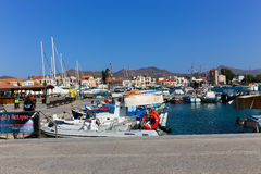 Yachts - Greece Islands Royalty Free Stock Photography