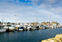Yachts harbour. Yatch Harbour, South Fremantle, Perth, Western Australia Royalty Free Stock Photos