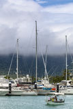 Yachts harbour Royalty Free Stock Image