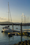 Yachts harbour Royalty Free Stock Photography