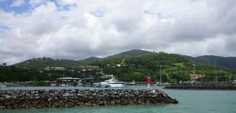 Yachts at Island, Australia Stock Images