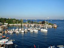 Yachts in Istanbul Stock Image