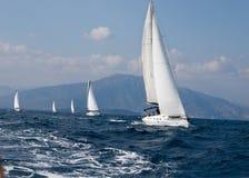 Yachts Konkurrenz Lizenzfreies Stockbild