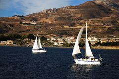 Yachts in Kos Royalty Free Stock Image