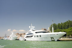 Yachts luxueux Photo stock