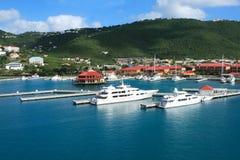 Yachts méga Image libre de droits