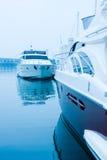 Yachts at marina Royalty Free Stock Image