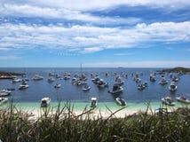 Yachts marina Stock Image