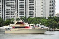 Yachts, marina, building Royalty Free Stock Images
