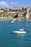 Yachts, marina de Senglea Image libre de droits