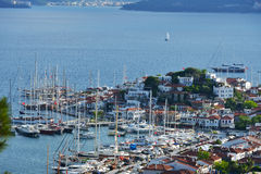 Yachts in Marmaris, Turkey Stock Photos
