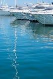 Yachts and mast reflection Royalty Free Stock Photo
