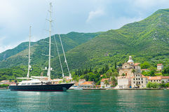 The yachts Royalty Free Stock Images