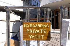 Yachts in Monaco Harbour Stock Photos