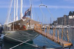 Yachts in Monaco Harbour Royalty Free Stock Image