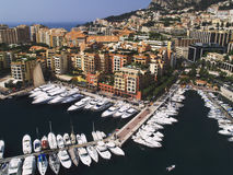 Yachts in Monaco Stock Photo