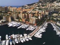 Yachts in Monaco Stock Photo
