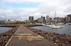 Yachts Moored in Harbour, Durban South Africa Royalty Free Stock Photo