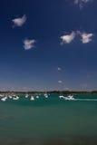 Yachts on the Morbihan Gulf Stock Image