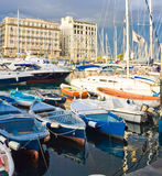 Yachts in Naples Stock Photography