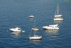 Yachts On The Mediterranean Royalty Free Stock Image