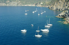 Yachts On The Mediterranean Stock Image