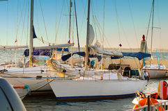 Yachts out sailing Royalty Free Stock Photography