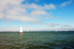 Yachts Pacific Ocean Royalty Free Stock Photography