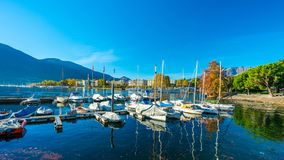 Yachts Pier Port Sea Harbour royalty free stock photography