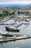 Yachts in the port of Rimini Royalty Free Stock Photography