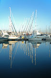 Yachts with Reflection Royalty Free Stock Photo